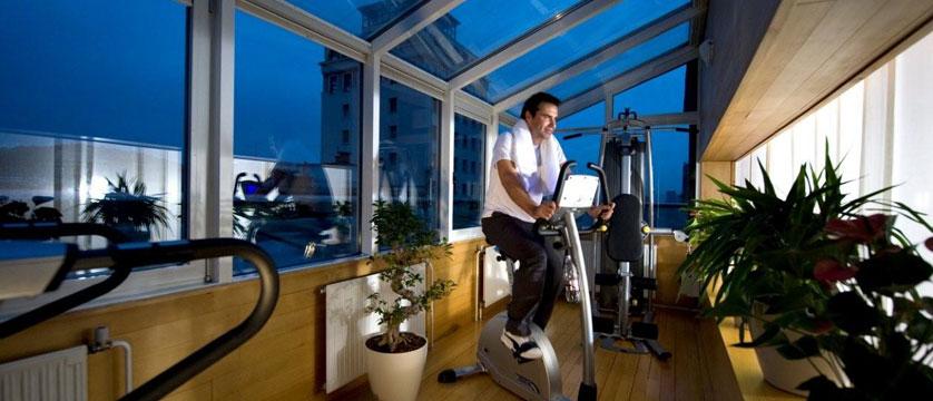 Hotel Slon, Ljubljana, Slovenia - Fitness Area.jpg